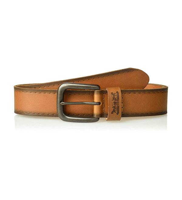 Кожаный ремень Levi Strauss - светло-коричневый