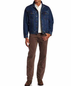 Джинсовая куртка Wrangler - Antique Indigo