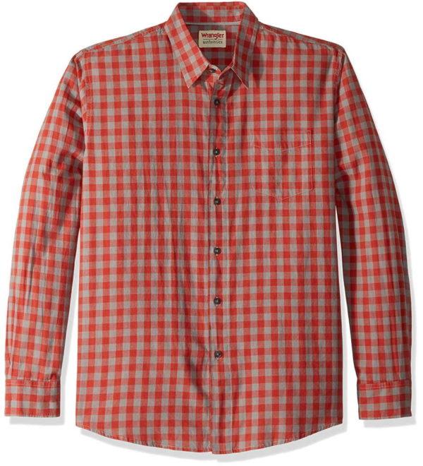 Клетчатая рубашка Wrangler Authentics - Bossa Nova