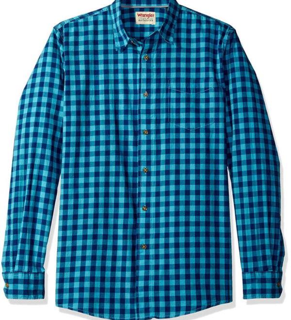 Рубашка в клетку Wrangler Authentics - Limoges