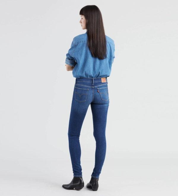 Супер скинни джинсы Levis 710 - Frolic Blue