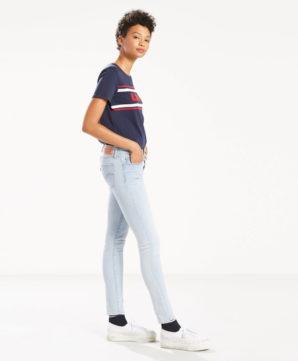 Женские скинни джинсы Levis 711 - Oriole