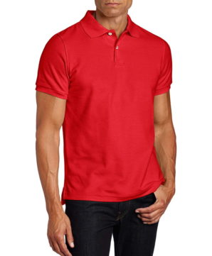 футболка-поло Lee - Красная