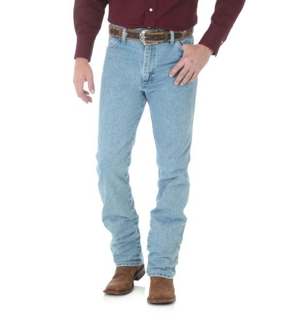 Узкие мужские джинсы Wrangler 936 - Antique Wash