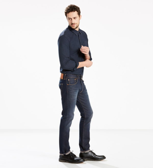 Стретч джинсы Levis 501 Original Fit - Anchor