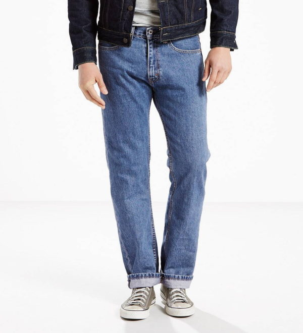 Классические джинсы Levis 505 - Medium Stonewash