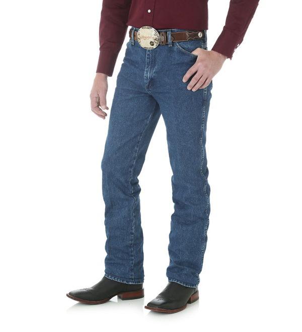 Узкие мужские джинсы Wrangler 936 - Stonewashed