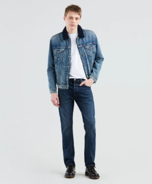 Стретч джинсы Levis 501 Original Fit - Cold Jasmine