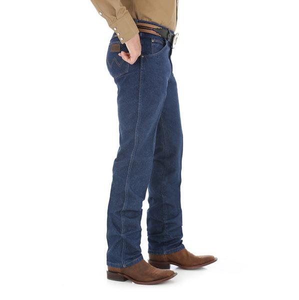 Wrangler 47MWZ Cowboy Cut Regular Fit Jean - Prewashed Indigo2