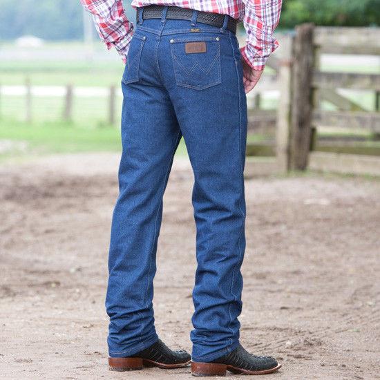 Wrangler 47MWZ Cowboy Cut Regular Fit Jean - Prewashed Indigo4