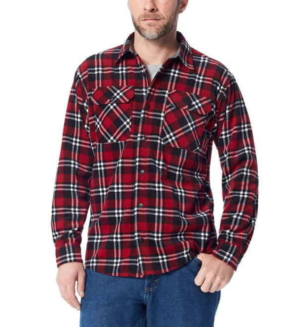 Флисовая рубашка Wrangler Authentics - Rio Red Tartan