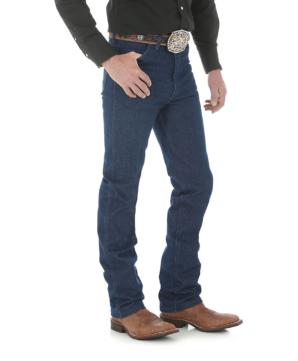 Узкие джинсы Wrangler 936DEN из сырого денима - Rigid