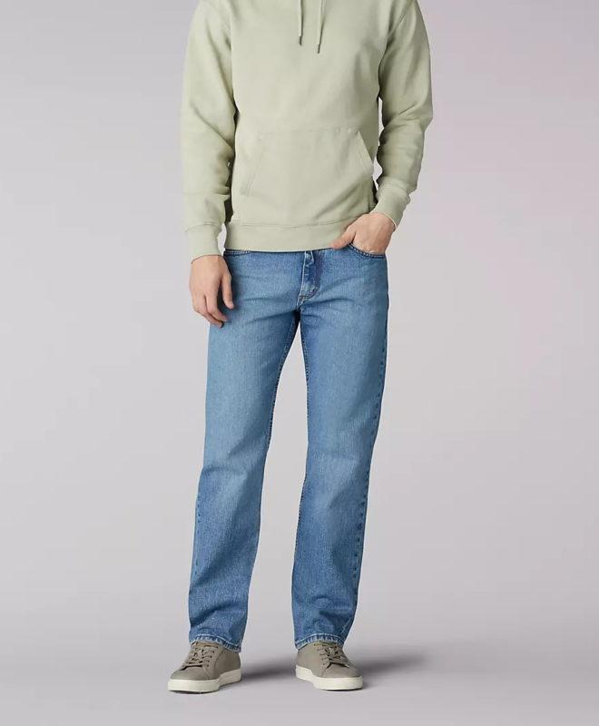 Мужские джинсы Lee Regular Fit - Vintage Stone