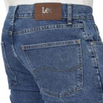 Lee Riders Indigo Mens Regular Fit Jean - Stonewash5
