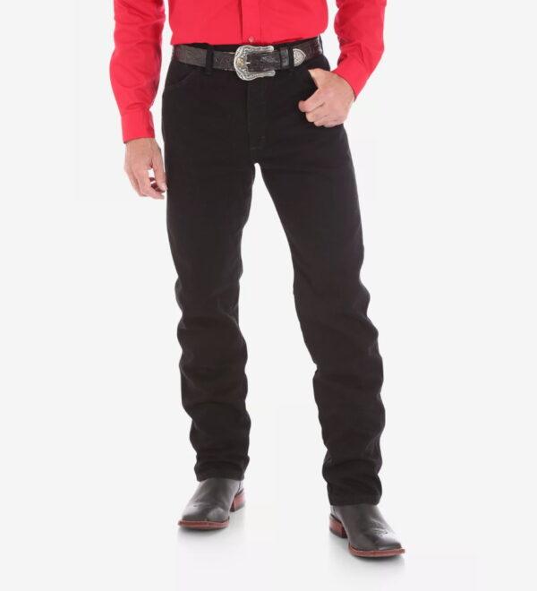 Прямые джинсы Wrangler 13MWZ - черные