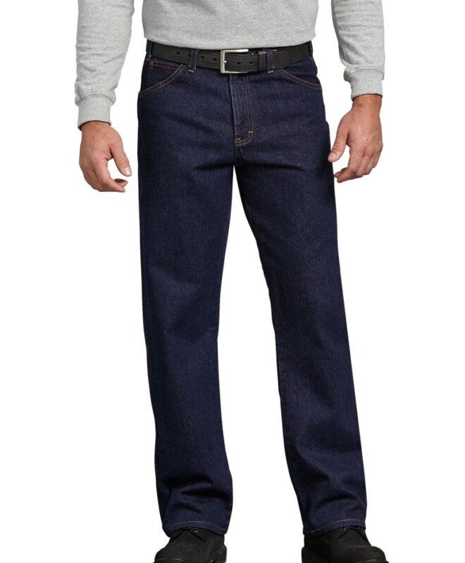 Джинсы Dickies Regular Straight Fit - Rinsed Indigo Blue