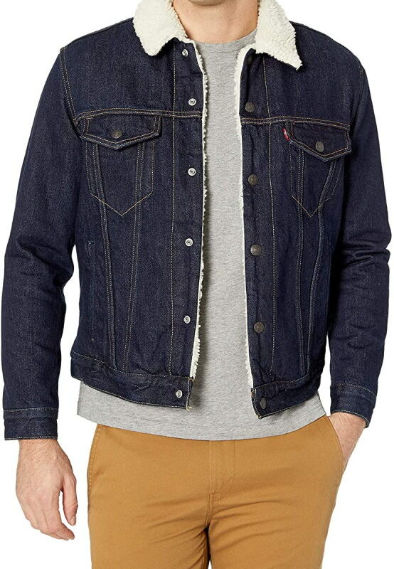 Теплая джинсовая куртка Levis на подкладке - Juniper Rinse