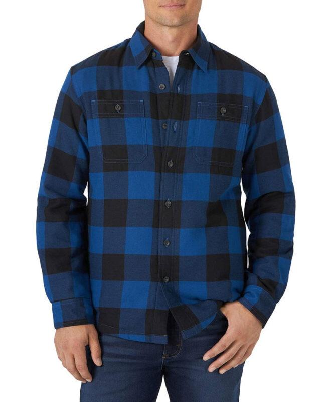 Куртка-рубашка Wrangler на подкладке