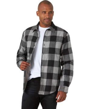 Куртка-рубашка Wrangler на подкладке - Grey Buffalo