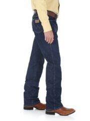 Wrangler 937STR Slim Fit Bootcut Jeans - Navy-2