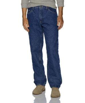 Теплые джинсы Wrangler на подкладке - Stonewashed