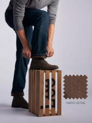 Lee Mens Fleece lined Relaxed-Fit Straight-Leg Jeans - Black Quartz 4