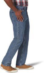 Wrangler Authentics Mens Regular-Fit Jean - Vintage Blue Grey 3