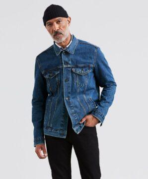 Классическая джинсовая куртка Levis - Medium Stonewash
