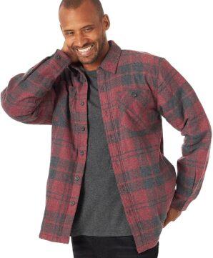 Куртка-рубашка Wrangler на подкладке - Current Heather